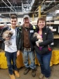 My nephew, Dylan Holding A Rabbit, In The Center Is My Cousin, Jeff And On The Right Is My Youngest Sister