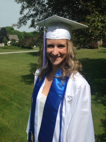 Kaitlin In Her Cap And Gown