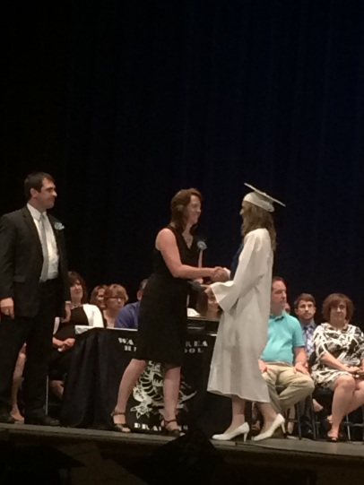 My Niece, Kaitlin Getting Her Diploma