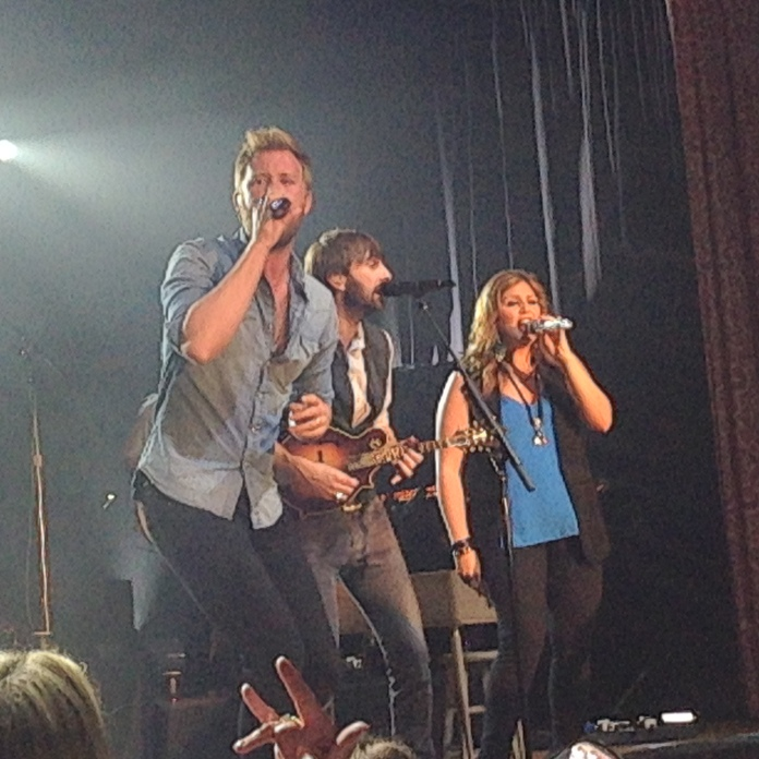 LADY ANTEBELLUM IN CONCERT.