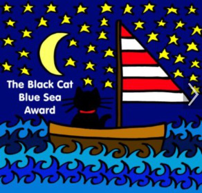 award-black-cat-blue-sea-292x280